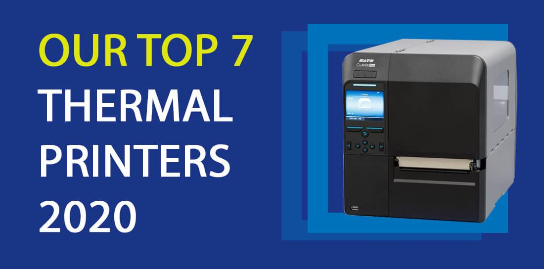 Top 7 Thermal Label Printers 2020
