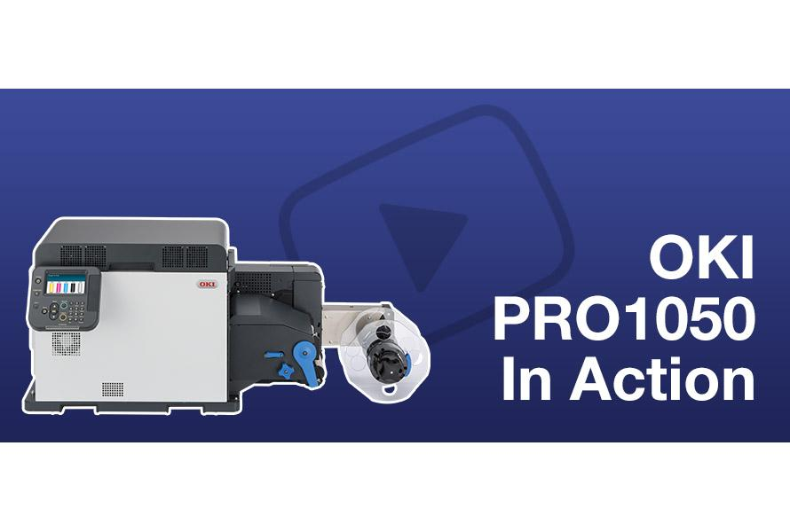 OKI Pro1050 in Action