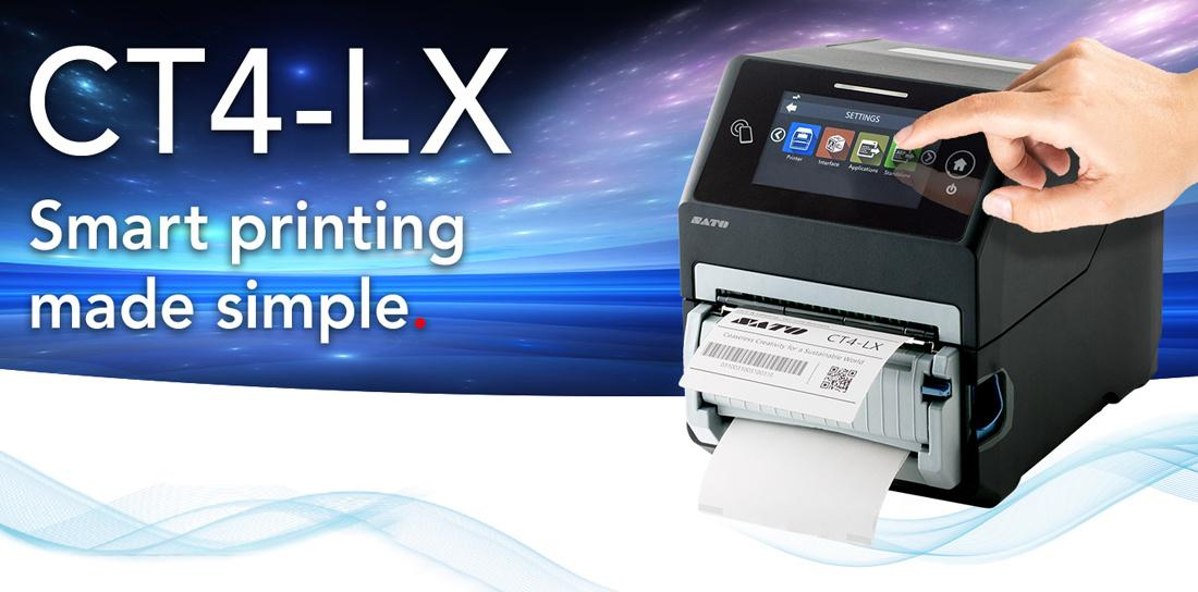 Introducing Our Brand-New Range Of Sato Printers - CT4-LX & FX3-LX
