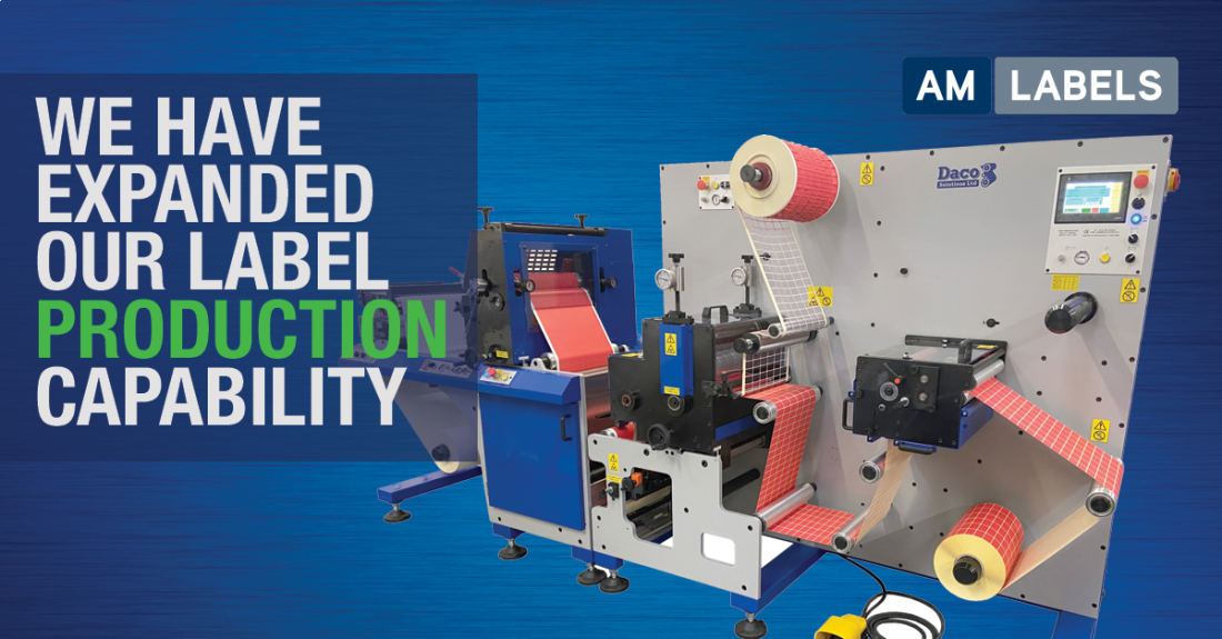 We have expanded our production expertise with a new Daco flexographic press