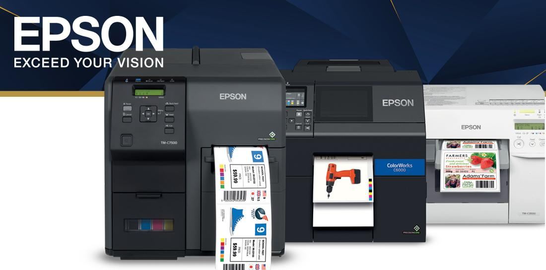 Save With On Demand Label Printing With Epson Colour Label Printers