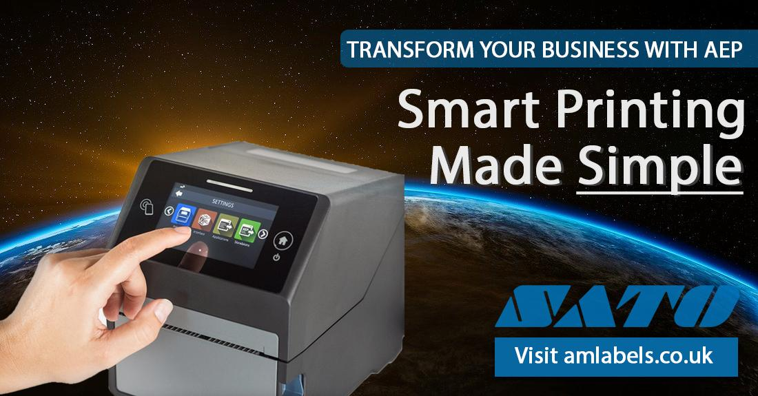 AEP - Application Enabled Printing. A New Era In Labelling Efficiency...