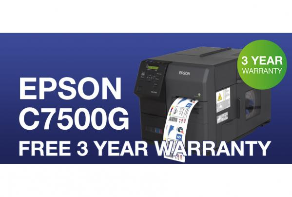 Epson C7500G PROMOTION - 3 Years on-site warranty FREE