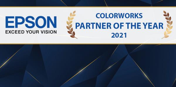 AM Labels Win Epson ColorWorks Partner Of The Year Award 2021