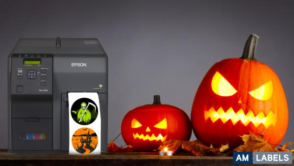 Celebrate Halloween With Our Terror-ific Colour Label Printers