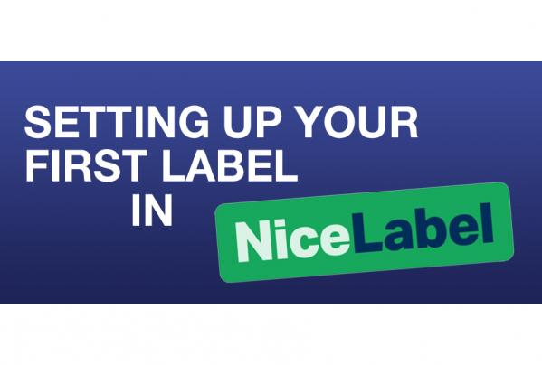 Nicelabel Software Guide – Setting up your first label