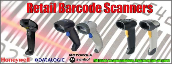 AM Labels' Latest Range of Barcode Scanners!