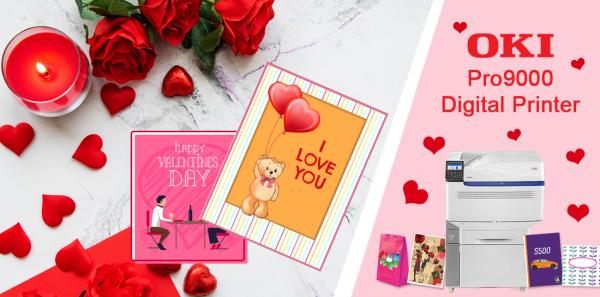 Wow Your Customers This Valentines With Oki Pro9000 Series Digital Printer