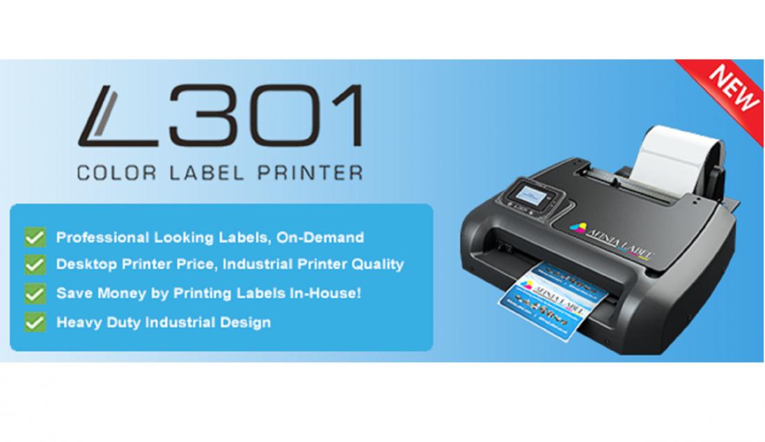 Announcing the Afinia L301 Colour Label Printer!