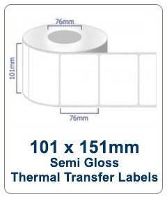 Box Labels - 101x151 TT Industrial