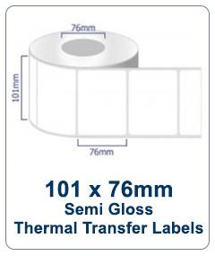 Box Labels - 101x76 TT Industrial