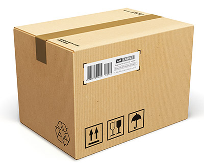 Box End Labels - Packaging Labels