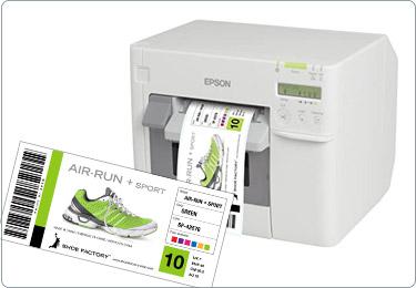 Box Labels - Colour Label Printer Solution