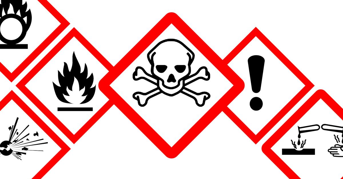 GHS compliant labels