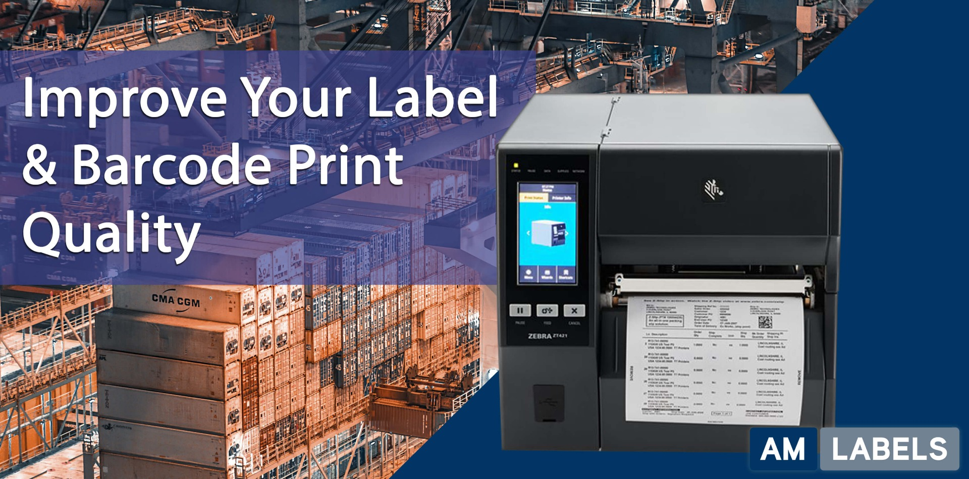 improve label print quality tips