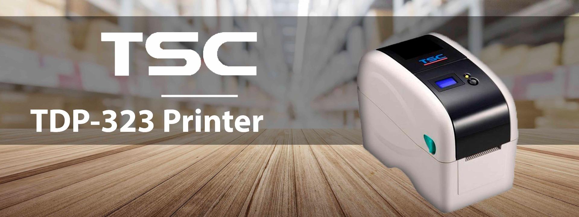 TTP-323 printer banner