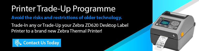 zebra trade up ZD620 direct thermal