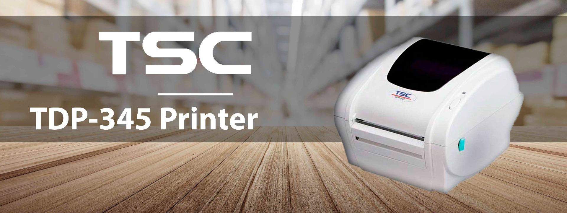 TSC TDP-345 Desktop Barcode Printer