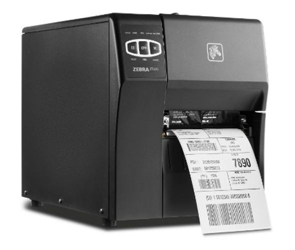 Zebra ZT220 direct thermal barcode printer