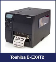 Toshiba B-EX4T2 Thermal Label Printer