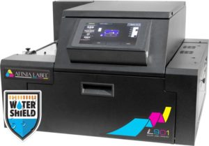 Afinia L901 wine bottle label printer