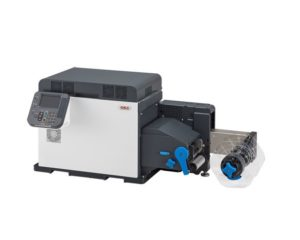 Oki Pro 1050 wine bottle label printer