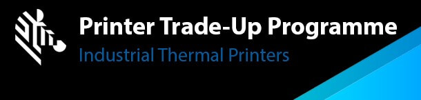 Zebra trade up programme for industrial thermal printers