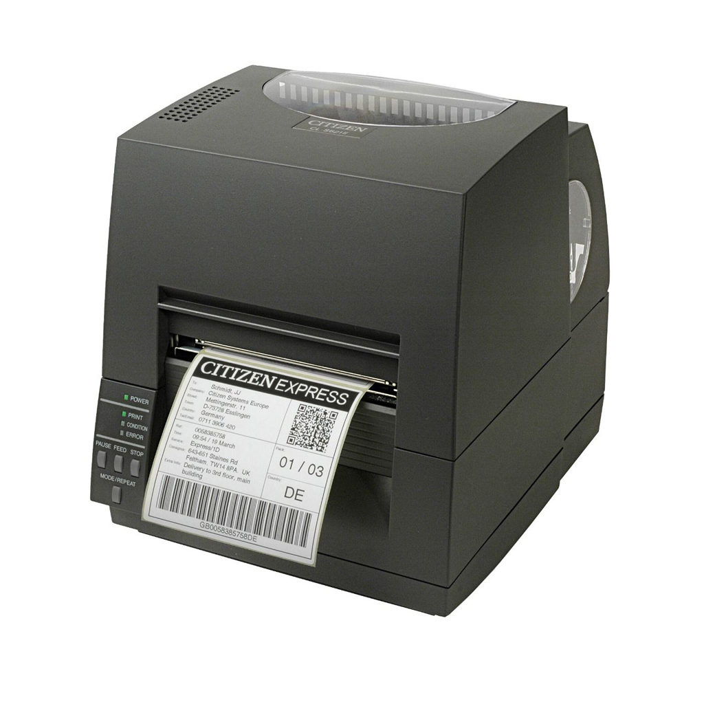 Citizen CL-S621II label and barcode printer